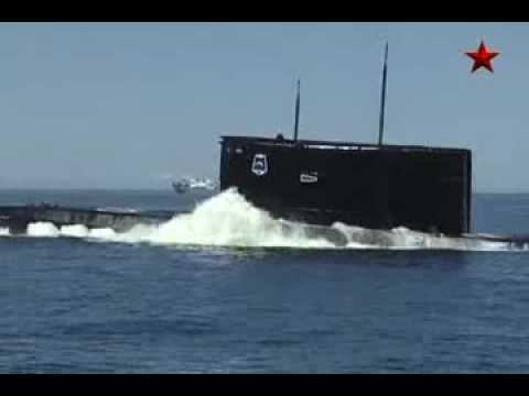 Учение подводной лодки в Балктике