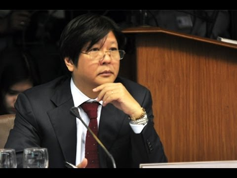 Sen. Bongbong Marcos - Rice smuggling modus operandi uncovered in Senate hearing 22-Jan-2014