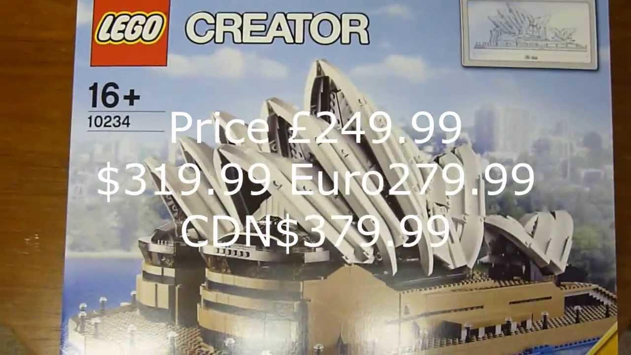 Sydney Opera House Lego Lego 10234 Sydney Opera House