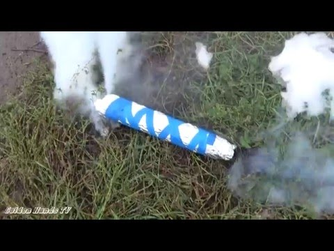 Как сделать дымовую шашку без селитры в домашних 1000