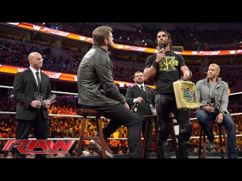 Seth Rollins forces John Cena to reinstate The Authority: Raw, December 29, 2014