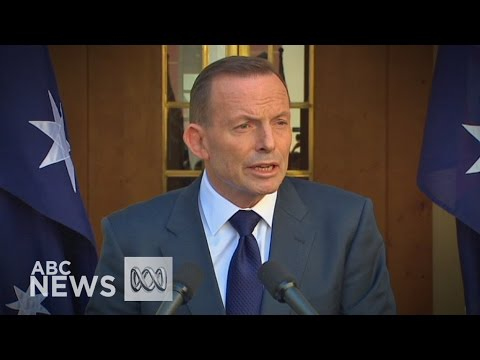 Tony Abbott addresses media for the last time as prime minister