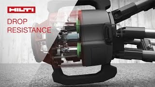 Hilti Rotating Laser Levels - Drop Resistance Technology