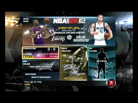 Sugestao Do Mug - Nba 2k 12