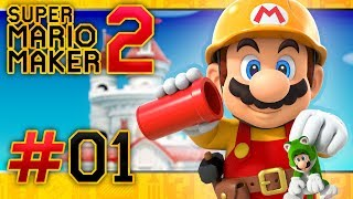 Super Mario Maker 2: Story Mode - Part 1 (2 PLAYER)