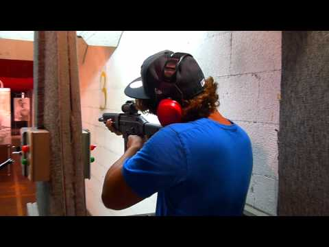 Shooting a Sig Sauer 522 and a Ruger in Myrtle Beach (round 1)