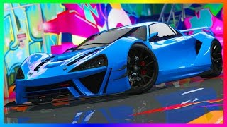"GTA ONLINE DLC NEW SUPER CARS SPENDING SPREE ""ITALI GTB CUSTOM"" GAMEPLAY, CUSTOMIZATION & MORE!!"