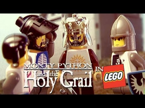 Monty Python And The Holy Grail In Lego video