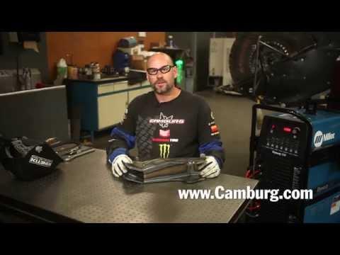 TIG Welding Rear Suspension Pivot Box for Camburg Kinetik Series Trophy Truck