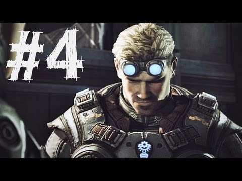 Gears of War Judgment Gameplay Walkthrough Part 4 - Halvo Bay - Campaign Chapter 2