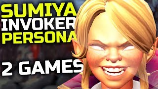 Sumiya Young Invoker Persona EPIC Gameplay Compilation Top 1 Dotabuff Invoker BEST Invoker Set Dota2