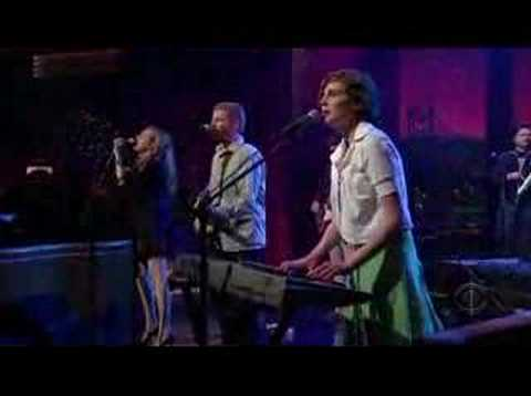 The New Pornographers - My Rights Versus Yours (Letterman)