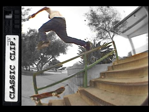 Don Nguyen Breaks Ankle Classic Skateboard Slams #97