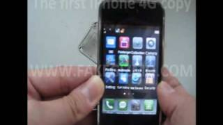 The new Apple iPhone 4G copy from China