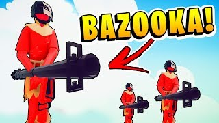 TABS - RPG BAZOOKA Units Are Hilarious! ROCKET JUMP! - Totally Accurate Battle Simulator