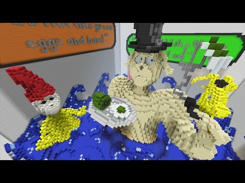 Minecraft Xbox World Of Seuss Hunger Games
