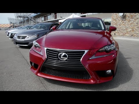2014 Lexus IS 250 AWD at MIS (Evaluation Course) - WINDING ROAD POV Test Drive