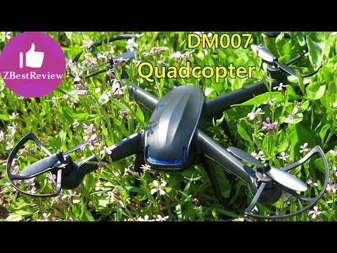 ✔ DM007 Квадрокоптер на 2s с камерой. Распаковка! Tinydeal.com