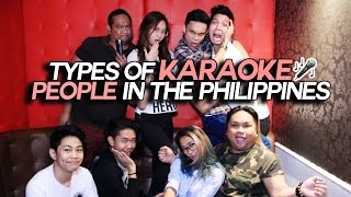 Types of KARAOKE People in the Philippines (ft. Pinoy Youtubers)
