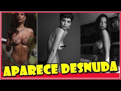 Emily Ratajkowski aparece desnuda en Nueva York thumbnail