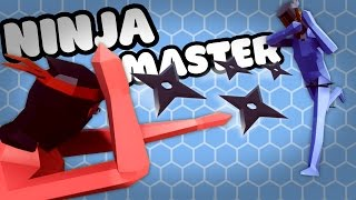 NINJA MASTER IS AMAZING - TABS ALPHA Gameplay Pt 2 - Totally Accurate Battle Simulator Campaign