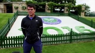 28 Questions With Milos Raonic