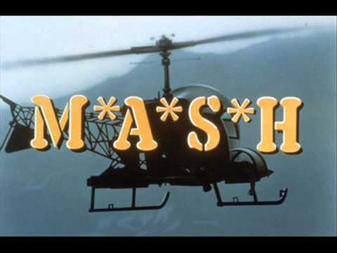 M*A*S*H is listed (or ranked) 2 on the list The Best TV Theme Songs of All Time