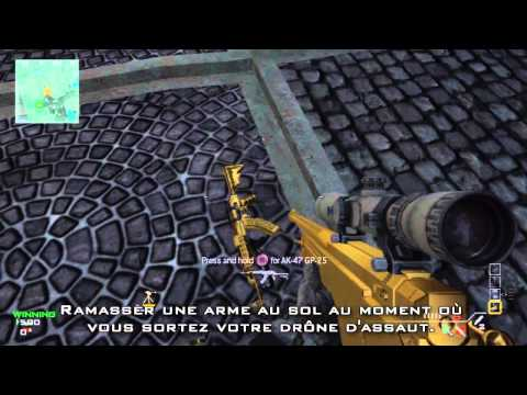 call of duty 4 comment avoir les armes en or