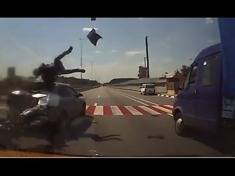 Compilation motorcycle accident September 2014