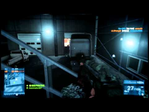 First BF3 game LIVE - WORLD RECORD FLAWLESS!!!