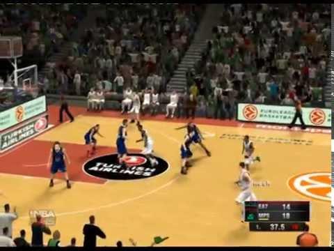 NBA 2K15 (Turkish Airlines Euroleague Spiel.8 EA7 Emporio Armani Milan vs Montepaschi Siena)