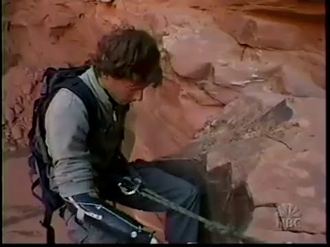 Aron Ralston Part 5 of 6 Desperate Days in Blue John Canyo