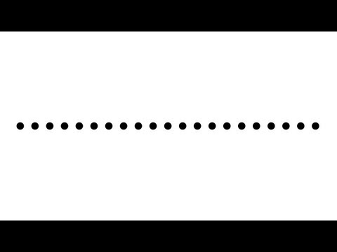 Dotted Line Tutorial - dotted lines