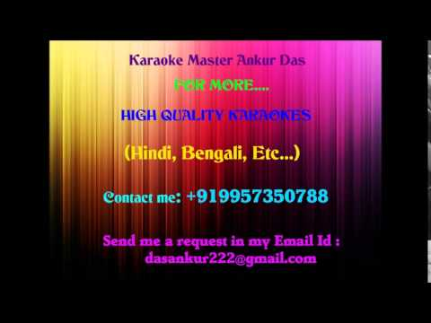 Tere Naina Karaoke   My Name Is Khan By Ankur Das 09957350788...