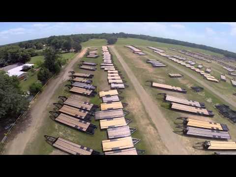 Aerial Footage at Big Tex Trailers