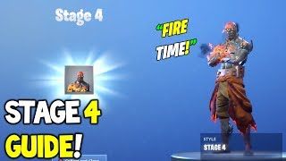 How To UNLOCK the Prisoner Skin Stage 4 Explained! Fortnite! Key Location to Unlock Prisoner Stage 4