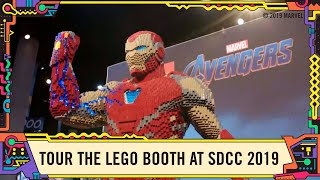 Tour the LEGO Booth with Marvel @ SDCC 2019!