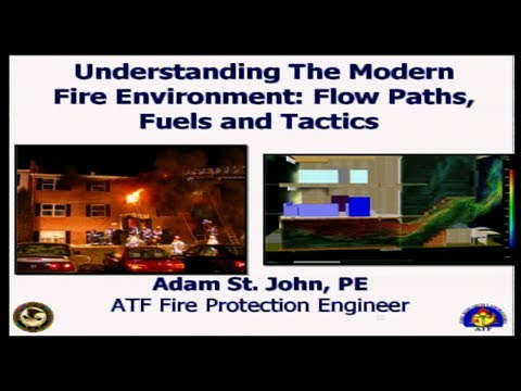Understanding the modern fire environment: flow paths, fuel and ventilation Part 3