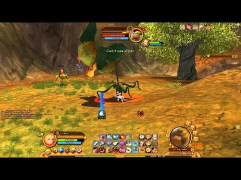 Ragnarok 2: Monk|Gameplay Again vs Giant Bellsprout