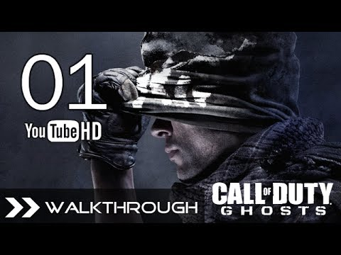 Call of Duty Ghosts Walkthrough Gameplay CoD Campaign – Part 1 (Mission 1 – Ghost Stories) HD 1080p PC PS3 PS4 Xbox One 360 Wii U Max Settings No Commentary