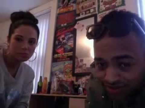 Tulisa and Platnum on ustream!