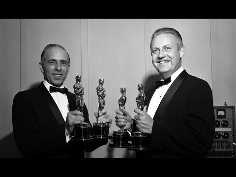 """Robert Wise And Jerome Robbins winning Oscars® For Directing """"West Side Story"""""""