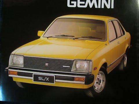 ジェミナイ Holden Gemini