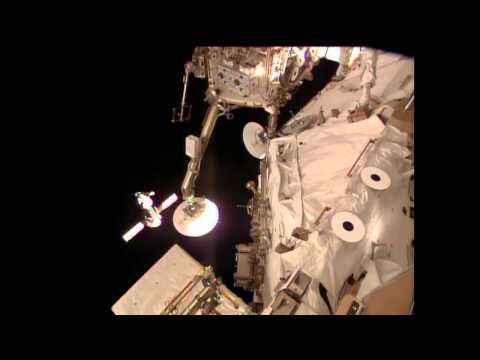 Expedition 39 Docks to Station After Two Day Trip