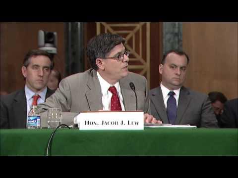Sen. Warren Q&A with Treasury Secretary Jack Lew