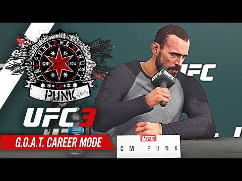 UFC 3 Career Mode - Ep 3 - THE KO KING!! (CM Punk GOAT Career #3) MP3