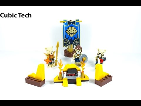 Lego Chima 70229 Lion Tribe Pack - Lego Speed Build