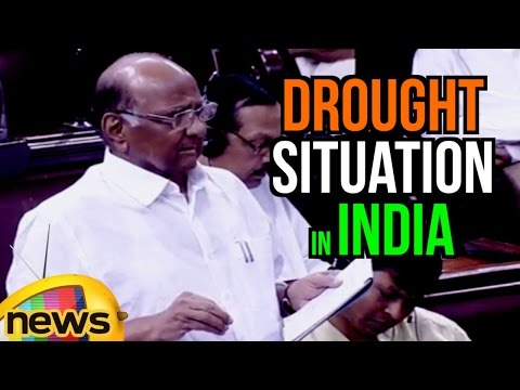 Sharad Pawar Speech In Rajya Sabha | Urges Govt To Address The Drought Situation In India