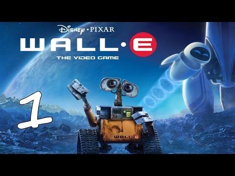 Disney WALL-E Video Game First Hour Gameplay Walkthrough Part 1 English