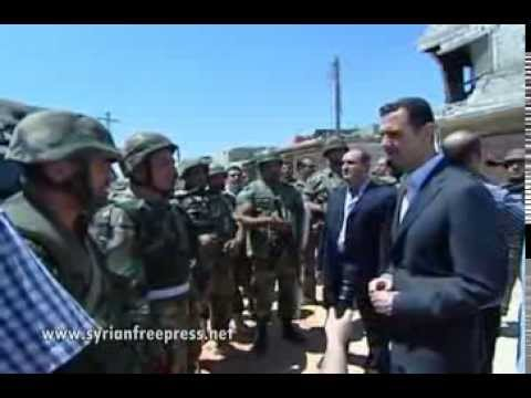 Syria News 1.8.2013, President Bashar Al-Assad visits soldiers to mark Army Day and pledge victory